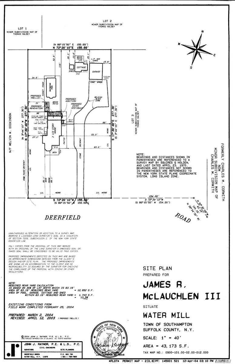 231 Deerfield Rd Water Mill, NY 11976